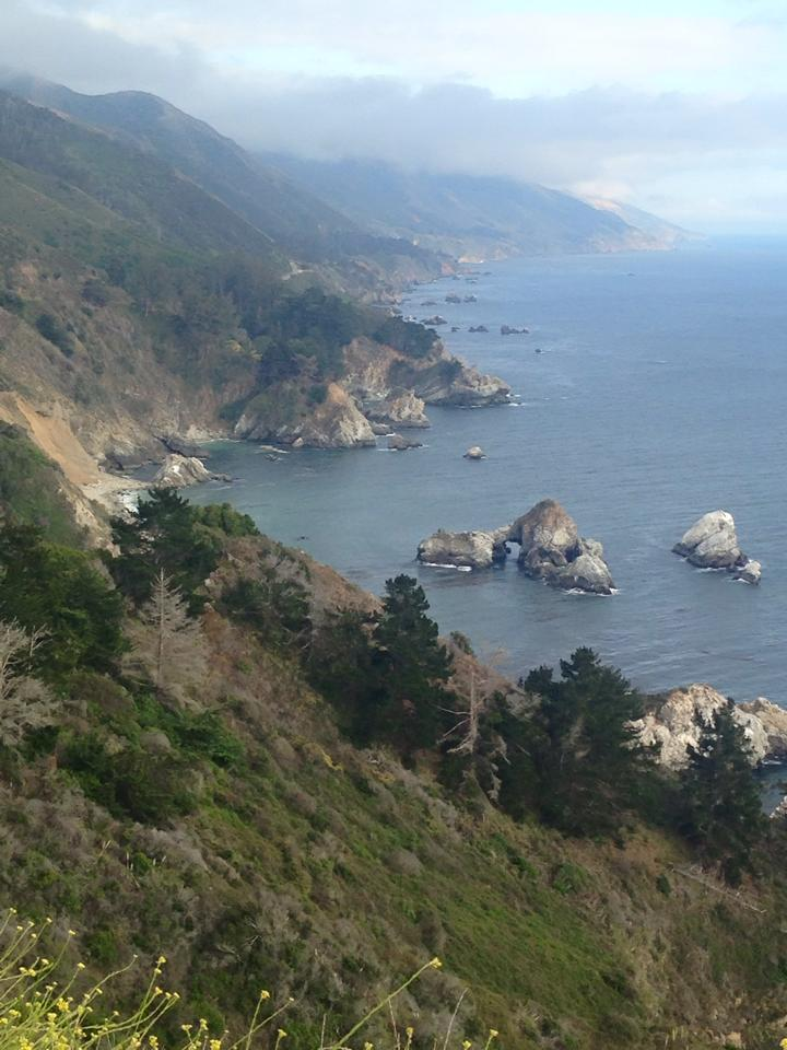 Big Sur - Vista point off the 1 Highway. Take a picture and enjoy the majesty of Big Sur.