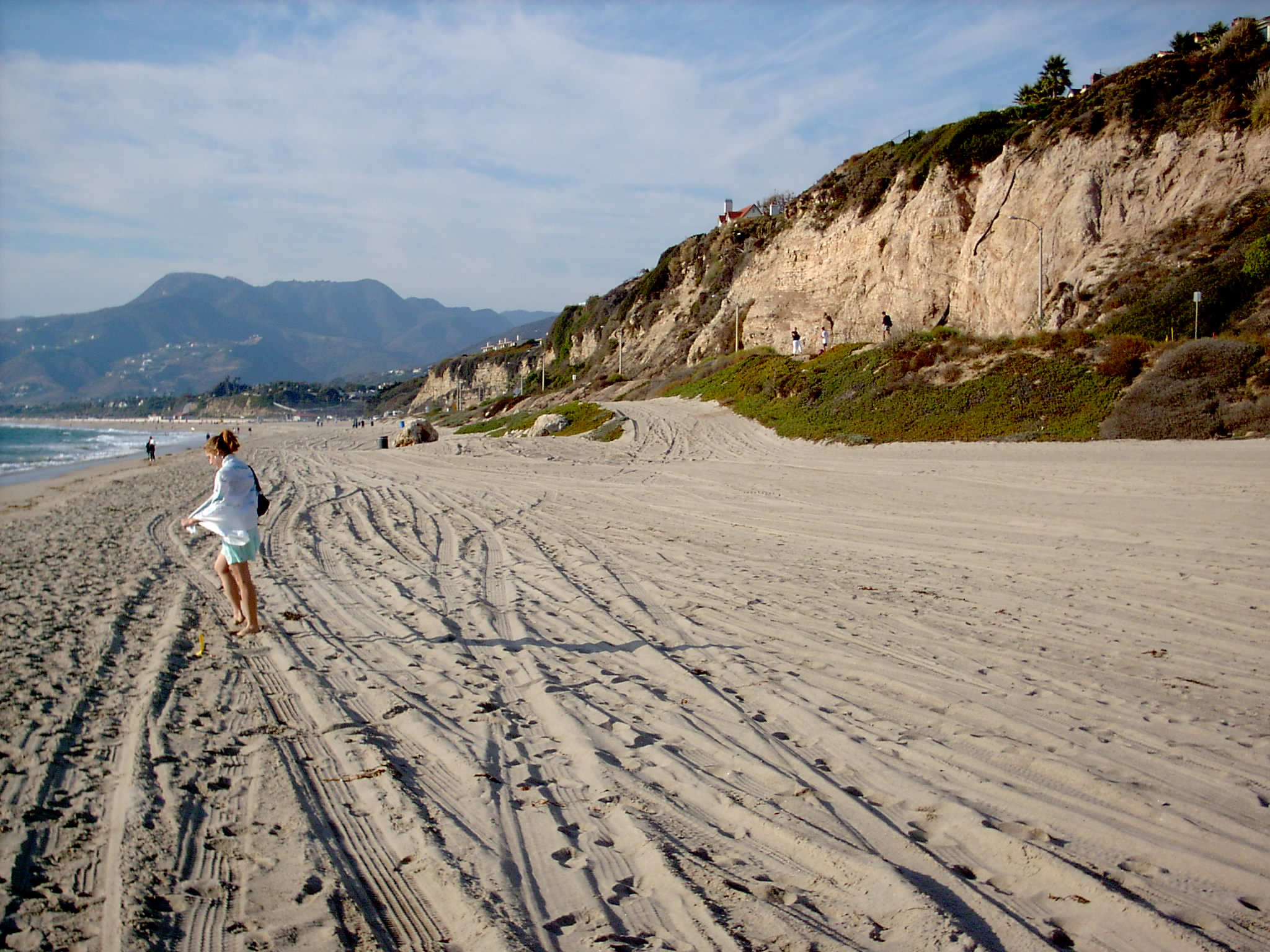 Zuma Beach - Iconic and stunning beach to get away from crowded LA beaches.