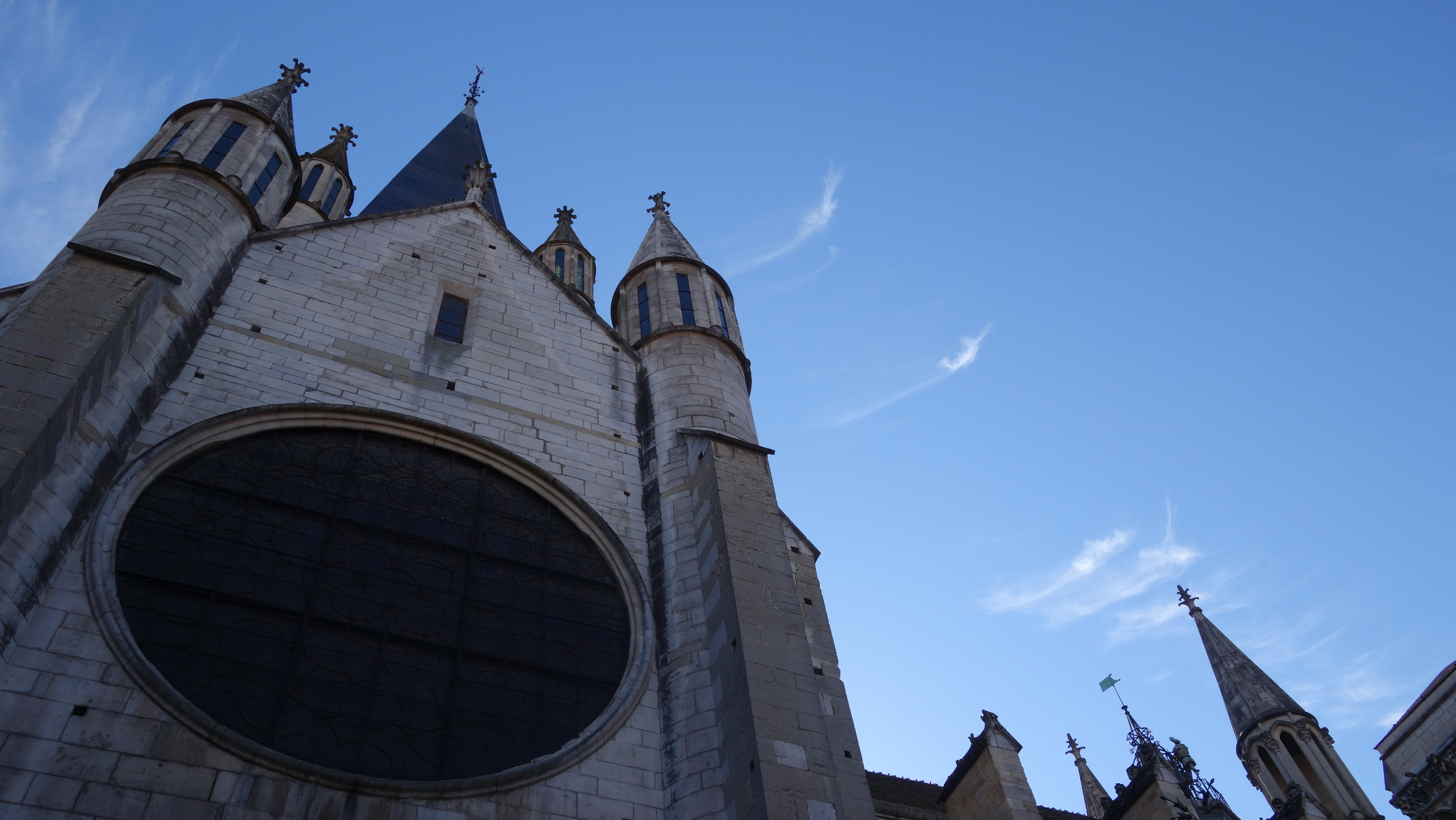 The Church of Notre-Dame of Dijon.