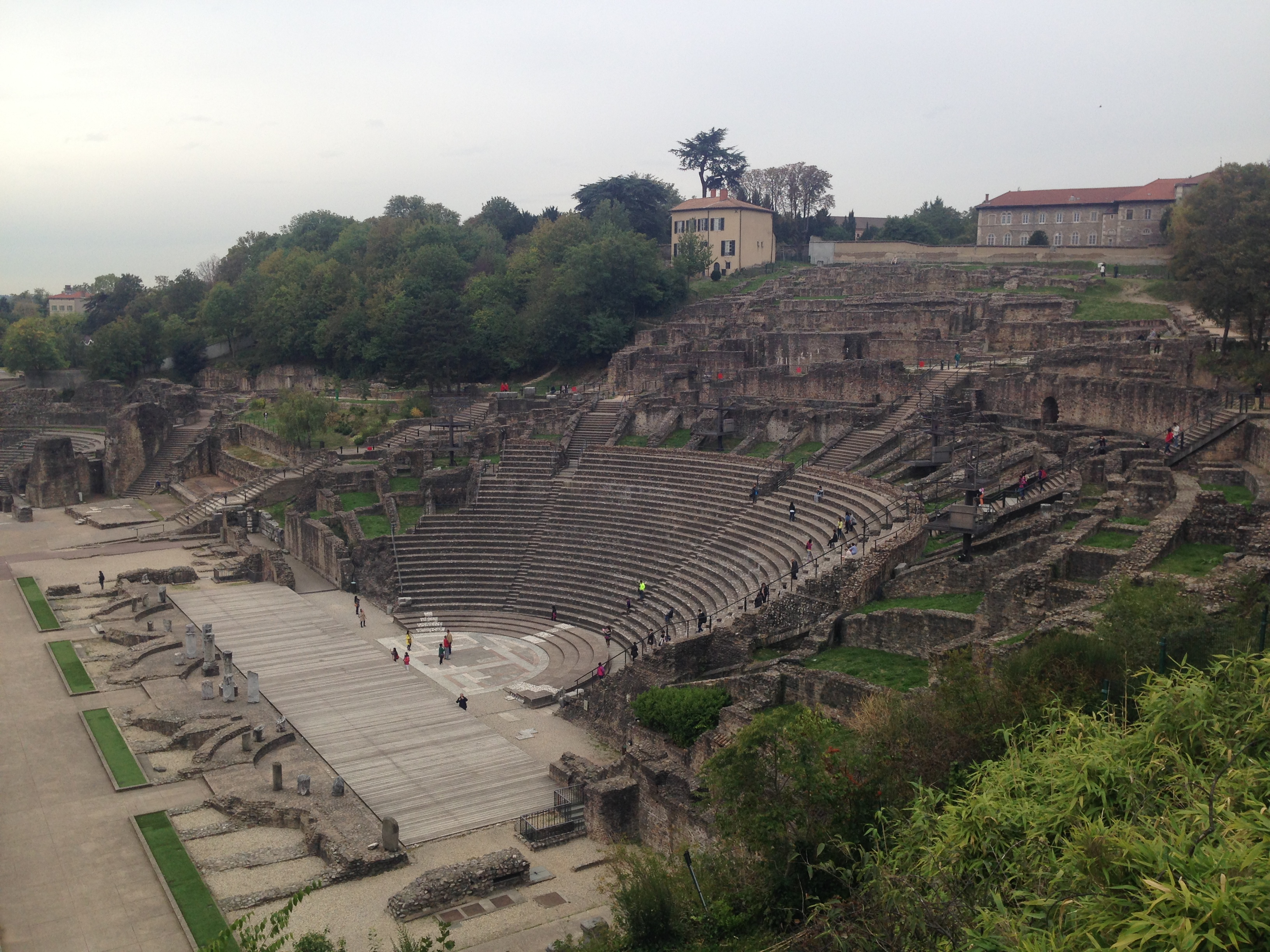 Theatres Romains, built around 15 BC by the Romans