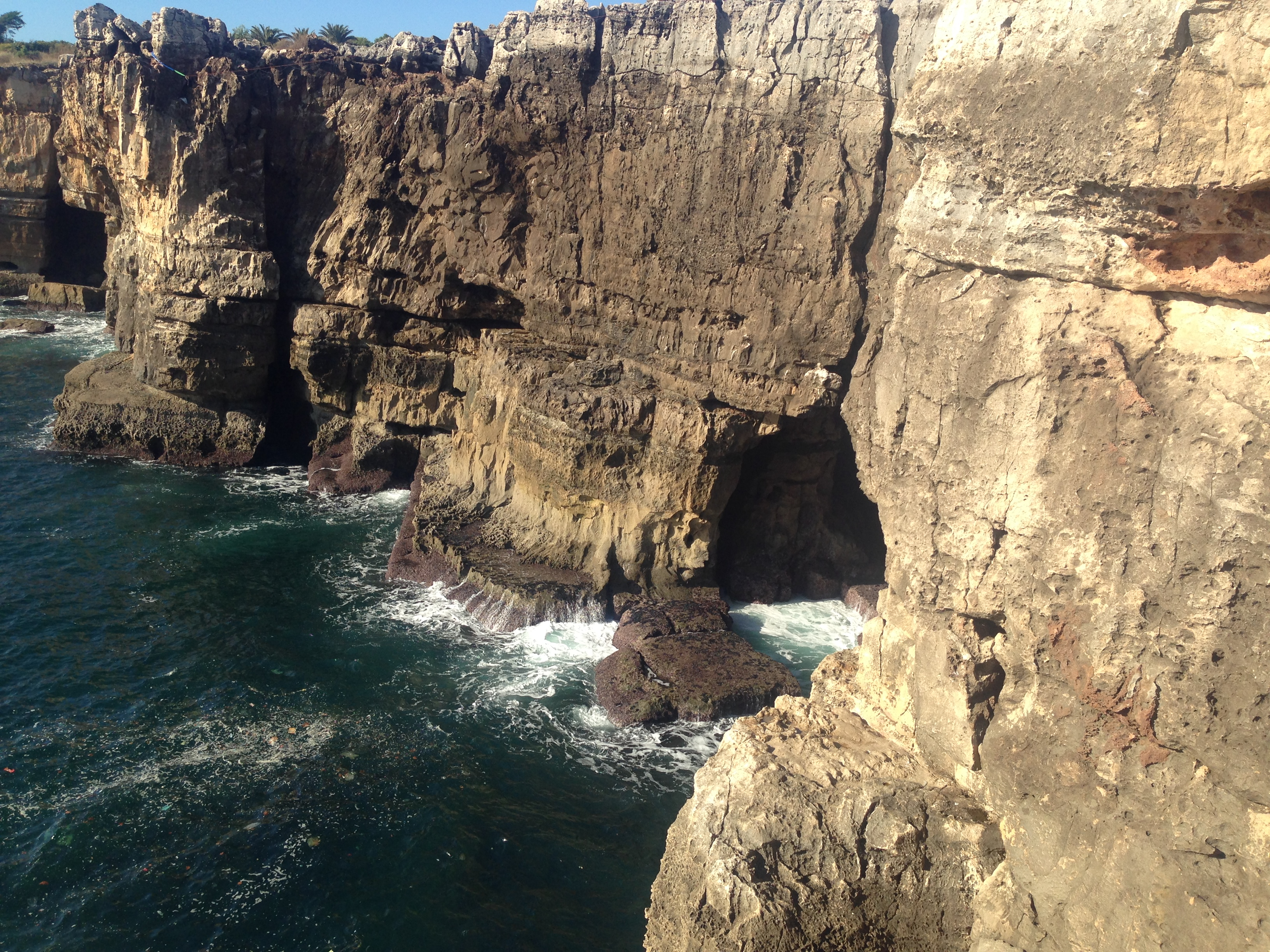 Sun, sea, sightseeing at Cascais, located about an hour from Lisbon.